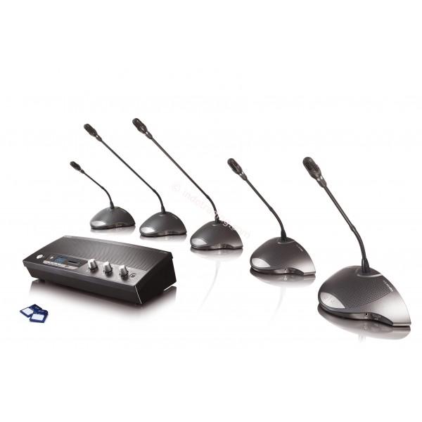 Аренда брифинг системы на 4 микрофона Bardl Lipo SW-500